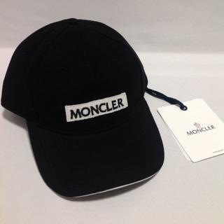 モンクレール(MONCLER)の【正規品】MONCLER モンクレール ロゴパッチ キャップ(キャップ)