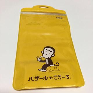 エヌイーシー(NEC)のバザござ 防滴スマホケース(モバイルケース/カバー)