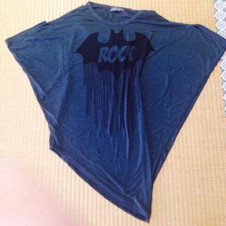 ファンキーフルーツ(FUNKY FRUIT)のfunky fruitの変形Tシャツ(Tシャツ(半袖/袖なし))
