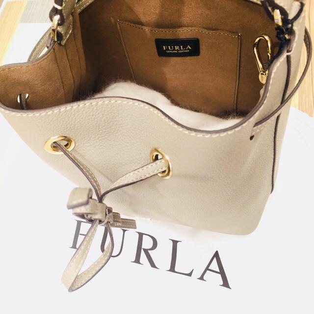 a1ab734c1c37 Furla(フルラ)の【新品保存袋付】FURLA COSTANZA ハンドバッグ ショルダーグレージュ