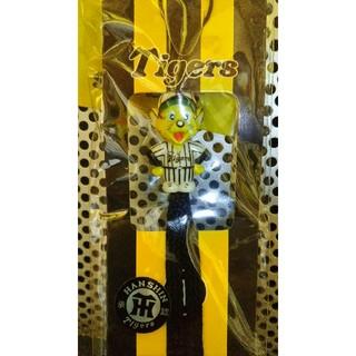 ハンシンタイガース(阪神タイガース)のTigersストラップ (黒紐)阪神タイガース(応援グッズ)