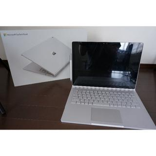 マイクロソフト(Microsoft)のMicrosoft Surface Book i7 16GB SSD512GB(ノートPC)