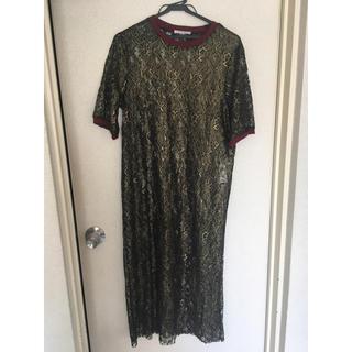 ザラ(ZARA)のZARA dress(ロングドレス)