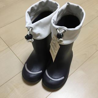 ムジルシリョウヒン(MUJI (無印良品))の新品未使用✨無印良品 レインシューズ  18〜19cm(長靴/レインシューズ)