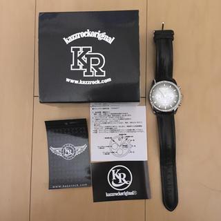 カズロック(KAZZROCK)の【値下げ】KAZZROC(カズロックオリジナル) 100本限定腕時計(腕時計(アナログ))