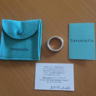 ティファニー(Tiffany & Co.)の値下げ  【ティファニー】ユニセックス/リング/21号(リング(指輪))