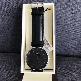 ダニエルウェリントン(Daniel Wellington)のDW  シンプル 腕時計 メンズ 40ミリ シルバー(腕時計(アナログ))