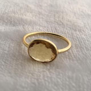 ☆*:.。. シトリンのリング .。.:*☆(リング(指輪))