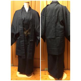 nati様専用 美品 着物 男性 着物、羽織、帯び等3セット 身丈約155cm(着物)