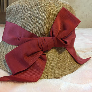 ヴィヴィアンウエストウッド(Vivienne Westwood)のヴィヴィアン  ウエストウッド 帽子(麦わら帽子/ストローハット)