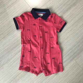 ラルフローレン(Ralph Lauren)のラルフローレン ポロシャツ カバーオール ロンパース (カバーオール)