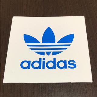 アディダス(adidas)の【縦7.5cm横7.5cm】 adidas ステッカー(ステッカー)