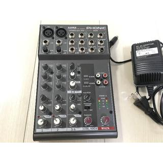 PHONIC AM85 コンパクトミキサー(ミキサー)
