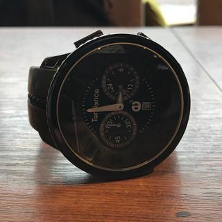 テンデンス(Tendence)のTendence(テンデンス)ガリバーラウンド クロノグラフブラック(腕時計(アナログ))