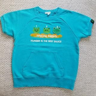 サンカンシオン(3can4on)の何故か半袖トレーナー 120(Tシャツ/カットソー)