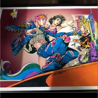 荒木飛呂彦 直筆 サイン ジョジョの奇妙な冒険 複製原画 最終出品 期間 限定(その他)