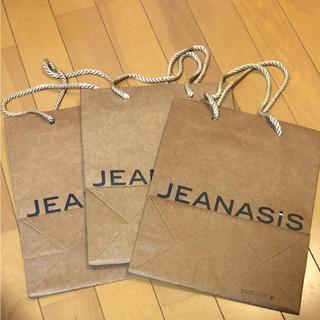 ジーナシス(JEANASIS)の⚠️aya様専用  ジーナシス  紙袋  ショップ袋(ショップ袋)