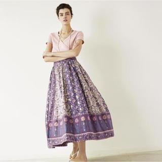 ロンハーマン(Ron Herman)のくるりん様専用 2018SS インド綿巻きスカート (ロングスカート)