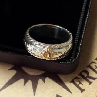 アリゾナフリーダム(ARIZONA FREEDOM)のリング 太陽神付唐草甲丸(リング(指輪))