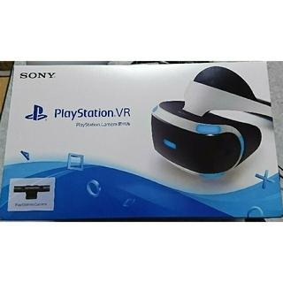 プレイステーションヴィーアール(PlayStation VR)のPlayStation VR Camera同梱版 CUHJ-16001 PSVR(家庭用ゲーム機本体)