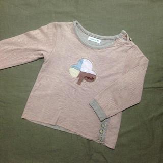 ビケット(Biquette)のカットソー 女の子90cm(Tシャツ/カットソー)