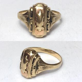 ゴールド カレッジリング(リング(指輪))