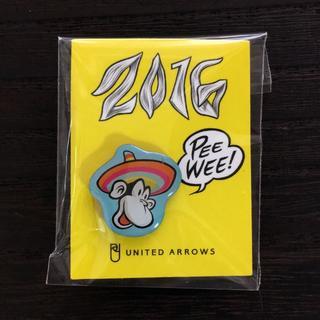 ユナイテッドアローズ(UNITED ARROWS)の【未開封!非売品!】ユナイテッドアローズ/2016ノベルティおさるさんピンバッジ(ブローチ/コサージュ)