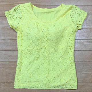 セシール(cecile)のカップ付きトップス(Tシャツ(半袖/袖なし))
