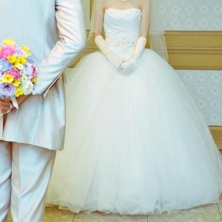 ヴェラウォン(Vera Wang)の(white by vera wang)VW351007バレリーナ編み上げお直し(ウェディングドレス)