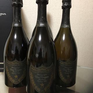 ドンペリニヨン(Dom Pérignon)のドンペリエノテーク 1990 「ヴィンテージ」3本セット(シャンパン/スパークリングワイン)