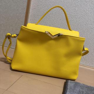 セシルマクビー(CECIL McBEE)のプリン様専用セシルマクビー イエロー黄色バッグ(ショルダーバッグ)