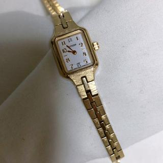 シップス(SHIPS)の腕時計 SHIPS別注 CITIZEN ゴールド(腕時計)