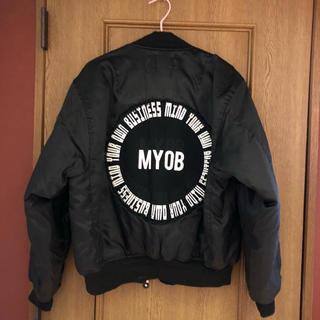 ステューシー(STUSSY)のmyobジャケット ma-1(ブルゾン)
