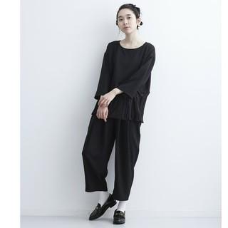 メルロー(merlot)の新作♡merlot パンツドレス セットアップ黒(その他)