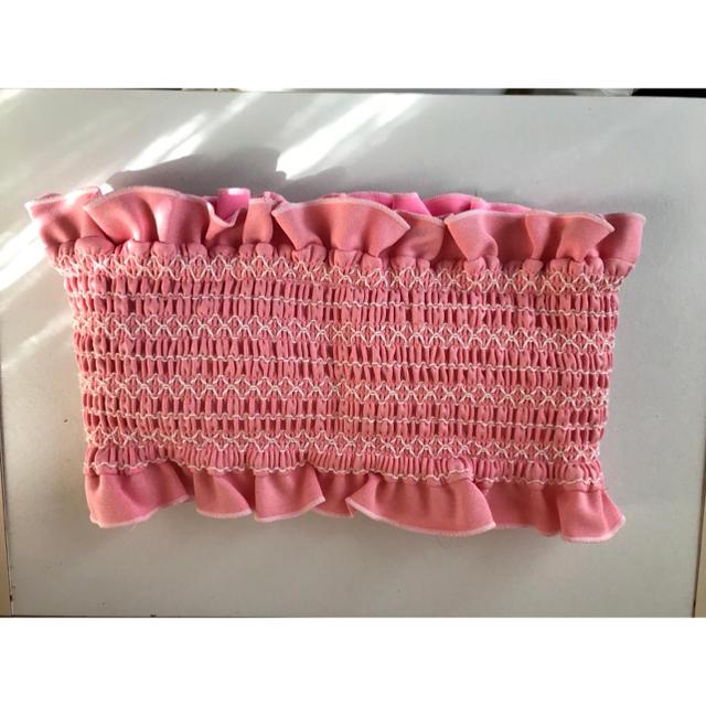 lilLilly(リルリリー)のlilLilly シャーリングバンドゥビキニ 水着 レディースの水着/浴衣(水着)の商品写真
