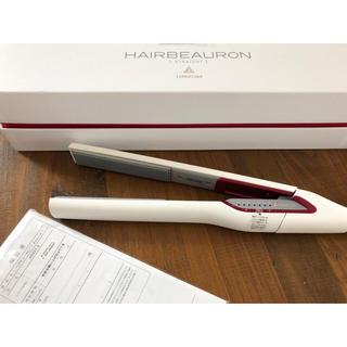 リュミエールブラン(Lumiere Blanc)のALISAさま専用❥❥❥25日まで取り置き ヘアビューロン ストレート アイロン(ヘアアイロン)