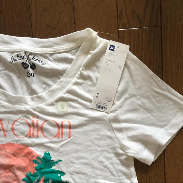 GU(ジーユー)のGu Tシャツ レディースのトップス(Tシャツ(半袖/袖なし))の商品写真
