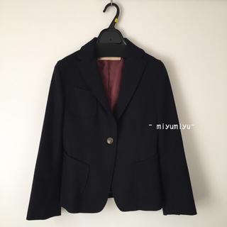 アンスクウィーキー(UNSQUEAKY)の美品❣️アンスクウィーキー✨紺ジャケット✨(テーラードジャケット)