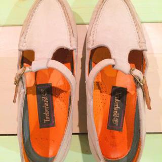 ティンバーランド(Timberland)のティンバーランド Tストラップシューズ MADE IN USA(ローファー/革靴)
