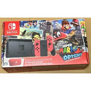 新品:Nintendo Switch スーパーマリオ オデッセイセット(家庭用ゲーム機本体)