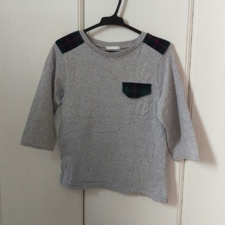 ジーユー(GU)のMy☆様専用♡GU ★七分袖Tシャツ 130(Tシャツ/カットソー)