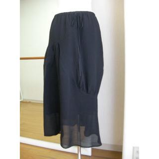 ゴム(gomme)の彩様専用 gommeアシンメトリースカート(ロングスカート)