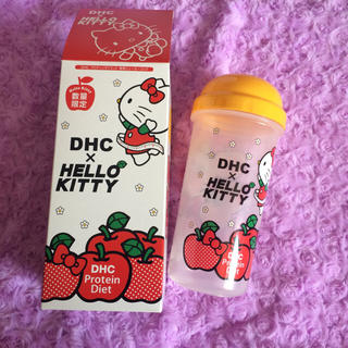 ディーエイチシー(DHC)のキティちゃん DHCシェイカーコップ(グラス/カップ)