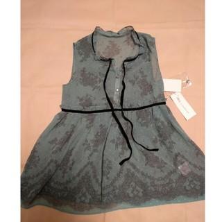 ジルスチュアート(JILLSTUART)のジルスチュアート タグ付き 子供服 大人も 160 S シフォンワンピ 新品(ワンピース)