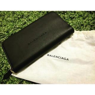 バレンシアガ(Balenciaga)のBELENSIAGA ラウンドファスナー財布(長財布)