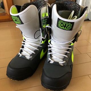 ナイキ(NIKE)のnike  snow boarding zoom DK スノボ ブーツ(ブーツ)