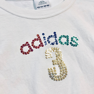 アディダス(adidas)のadidas スパンコール ロングTシャツ(Tシャツ(長袖/七分))