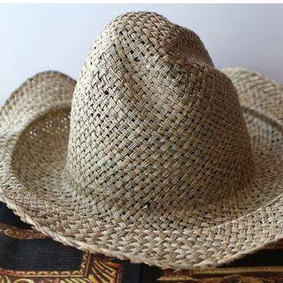 ヴィヴィアンウエストウッド(Vivienne Westwood)の新品 ヴィヴィアン ストローチコハット ナチュラル(麦わら帽子/ストローハット)