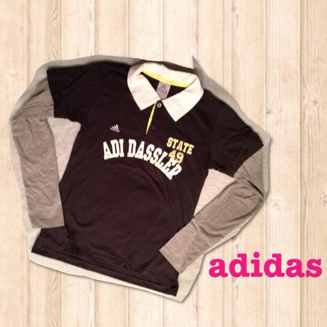 adidas(アディダス)の送料込み♡adidas♡ロンT レディースのトップス(Tシャツ(長袖/七分))の商品写真