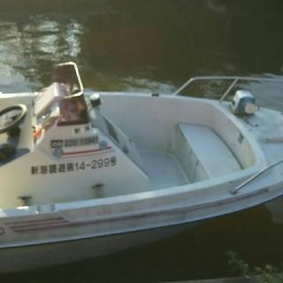 ホンダ50馬力船外機付きフィッシングボート(その他)
